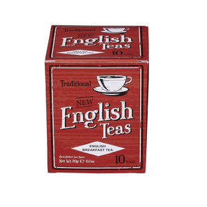 Vintage English Breakfast Tea 10 Teabag Carton Black Tea New English Teas