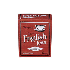 Vintage English Breakfast Tea 6 Teabag Carton Black Tea New English Teas