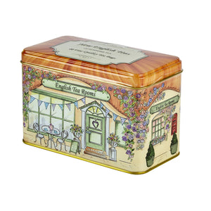 Vintage English Tea Rooms English Breakfast Tea Tin 40 Teabags Black Tea New English Teas