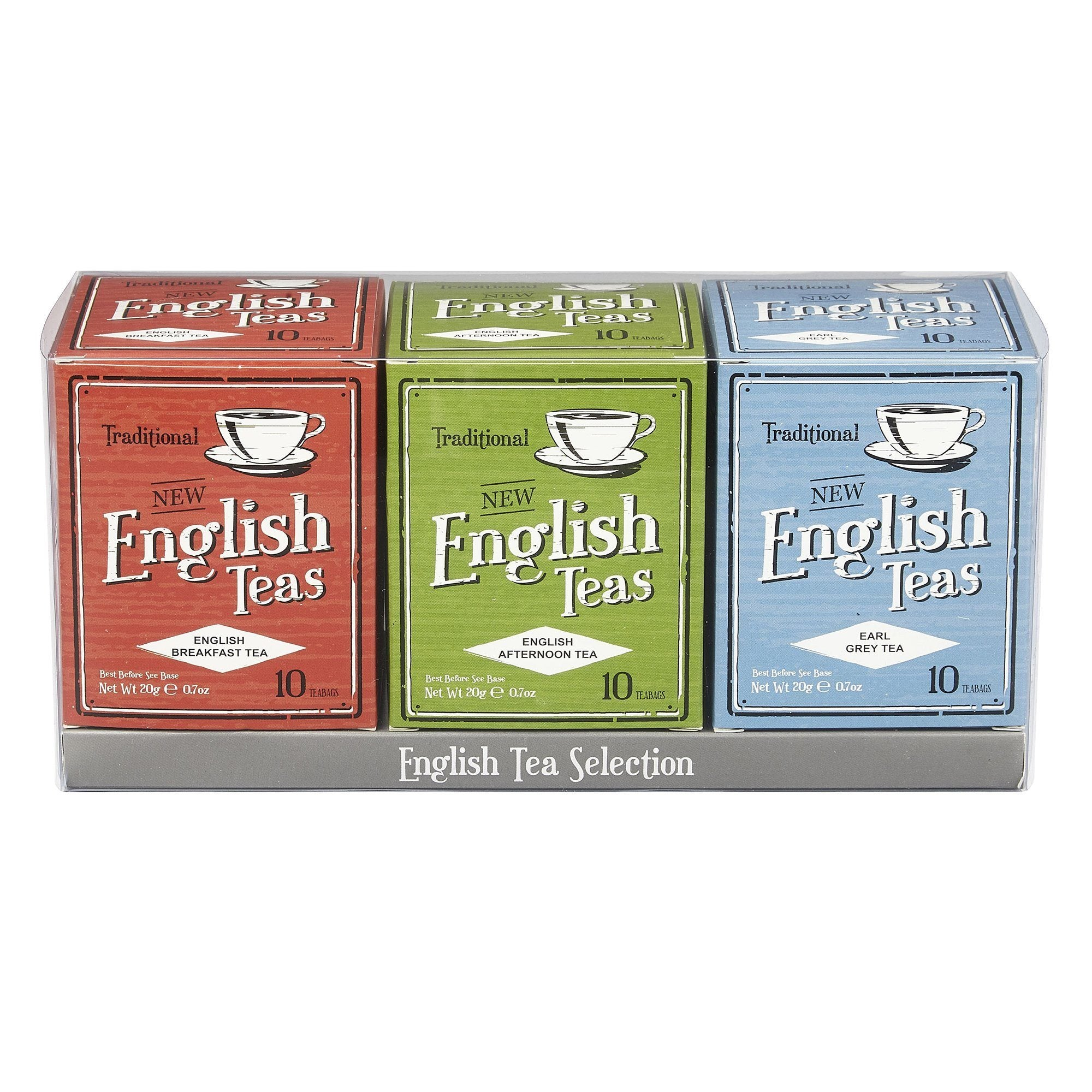 Vintage English Teas Triple Tea Gift Pack Black Tea New English Teas