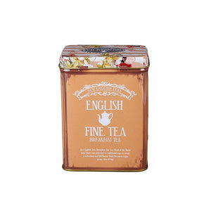 Vintage Floral English Breakfast Tea Tin 125g Black Tea New English Teas