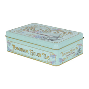 Vintage Victorian English Tea Tin 72 Teabags Black Tea New English Teas