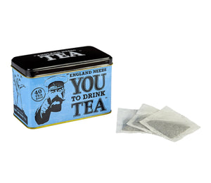 War Time Memories English Afternoon Tea Tin 40 Teabags Black Tea New English Teas