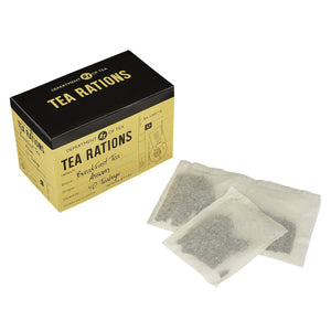 War Time Memories English Breakfast Tea Rations 40 Teabag Carton Black Tea New English Teas