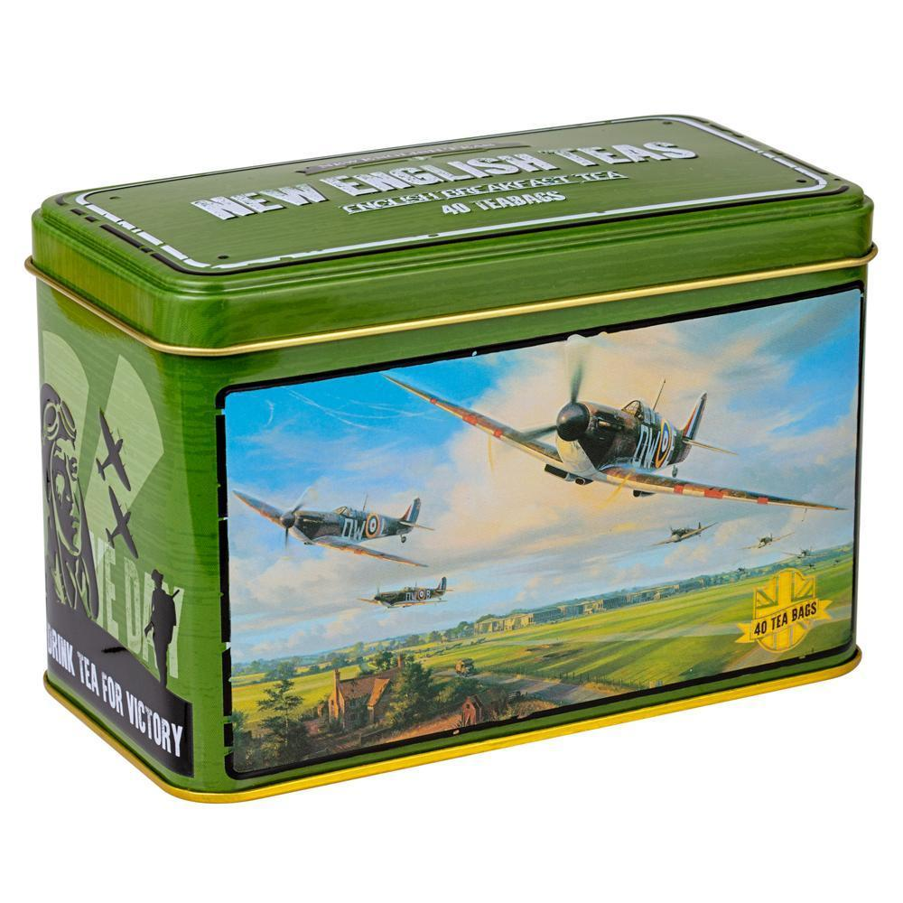 War Time Memories Tea Tin Collection Black Tea New English Teas