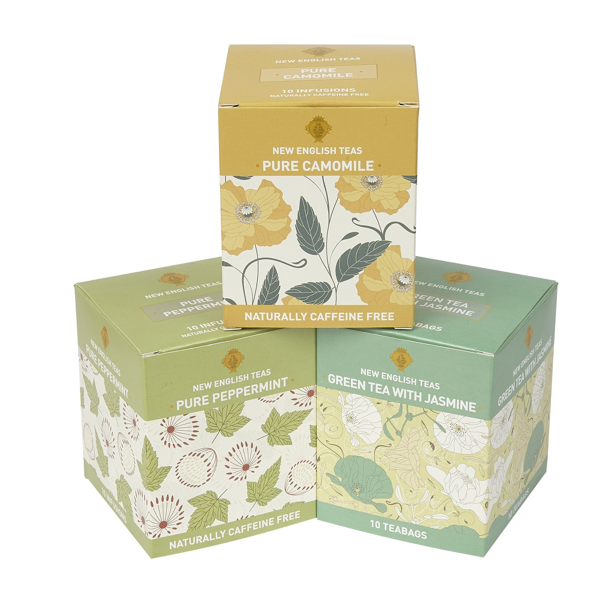 Wellbeing Tea Selection Detox Me 30 Teabags Green Tea, Herbal Tea New English Teas