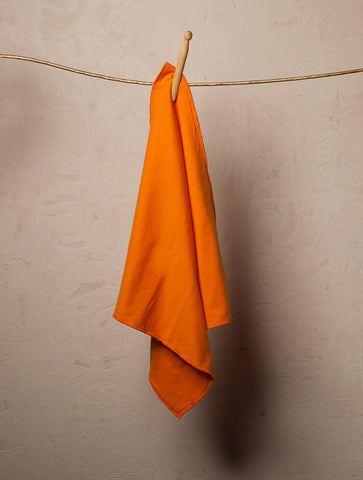 Burp Cloth Light Orange