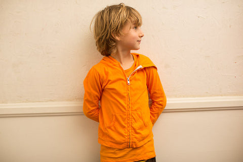 Sparrow Hoodie Light Orange