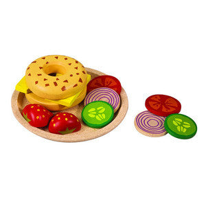 Bagel & Cheese Play Set