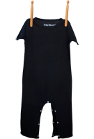 Short Sleeve Jumper Black