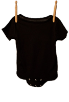 Short Sleeve Bodysuit Black