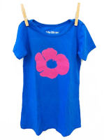 Poppy Dress Electric Blue