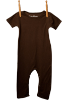Short Sleeve Jumper Brown