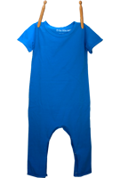 Short Sleeve Jumper Electric Blue