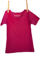 Short Sleeve Shirt Fuschia