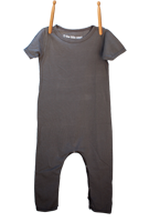 Short Sleeve Jumper Gray