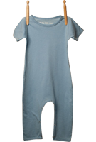 Short Sleeve Jumper Light Blue