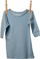 3/4 Sleeve Shirt Light Blue