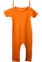 Short Sleeve Jumper Light Orange