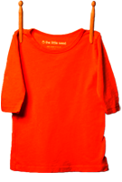 3/4 Sleeve Shirt Orangeburst