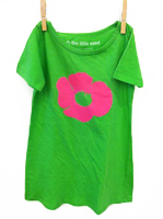 Poppy Dress Lime Green