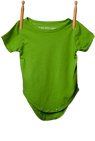 Short Sleeve Bodysuit Lime Green