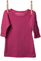 3/4 Sleeve Shirt Magenta