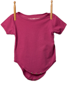 Short Sleeve Bodysuit Magenta