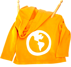 Earth Hoodie Sunshine Yellow