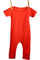 Short Sleeve Jumper Orangeburst