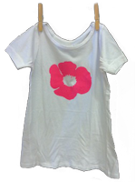 Poppy Dress White