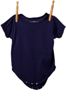Short Sleeve Bodysuit Plum