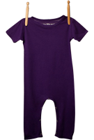 Short Sleeve Jumper Purple