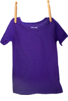 Short Sleeve Shirt Purple