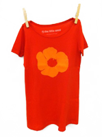 Poppy Dress Red