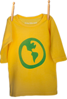Long Sleeve Earth Shirt Sunshine Yellow