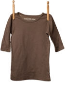 3/4 Sleeve Shirt Taupe