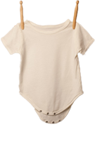 Short Sleeve Bodysuit White