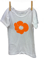 Short Sleeve Poppy Shirt White
