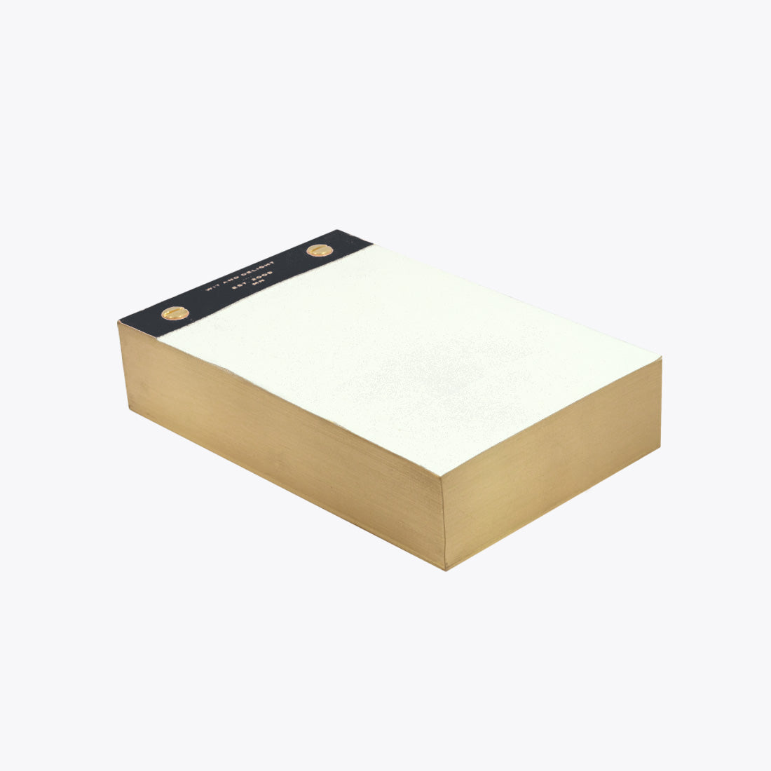 black desktop notepad