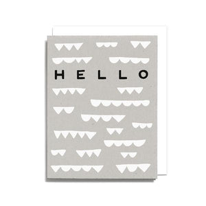 hello shapes card