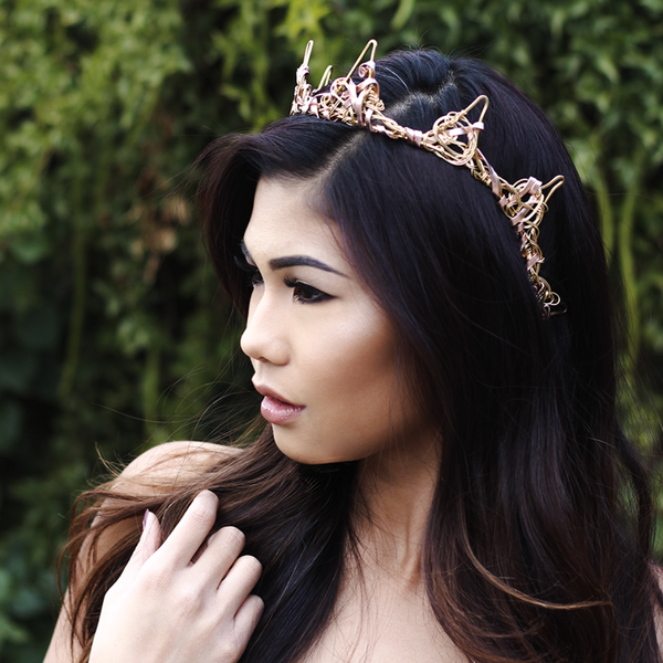 The Ignis Crown | Bridal Hair | Bride