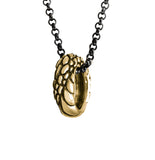 Ouroboros Ring Necklace