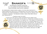 Sankofa Gold Necklace