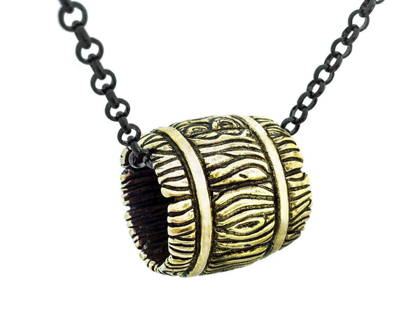 Whiskey Barrel Necklace
