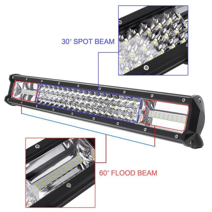 "40"" Extreme Series Triple LED 540w Lightbar - Wa 4x4 Camping And Accessories"