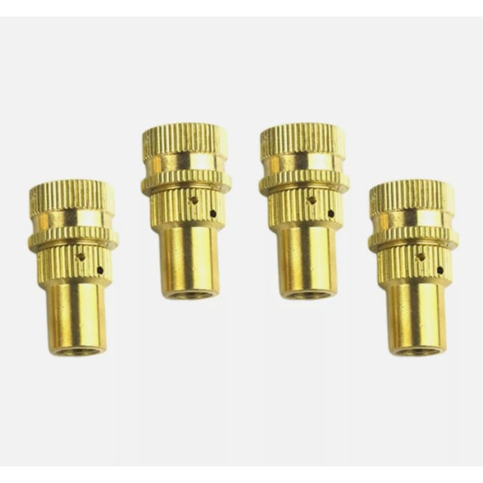 Brass Tyre Deflators 4 Pack