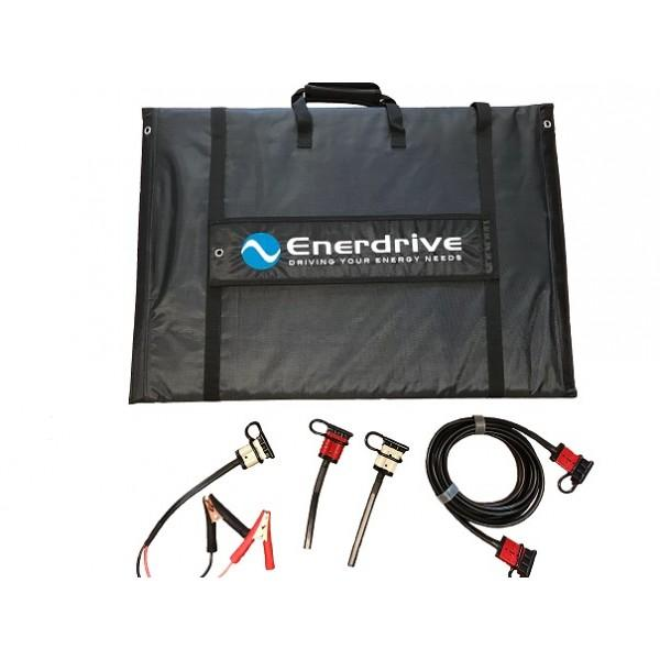 Enerdrive 240w Portable Solar Kit (No Reg) - Wa 4x4 Camping And Accessories
