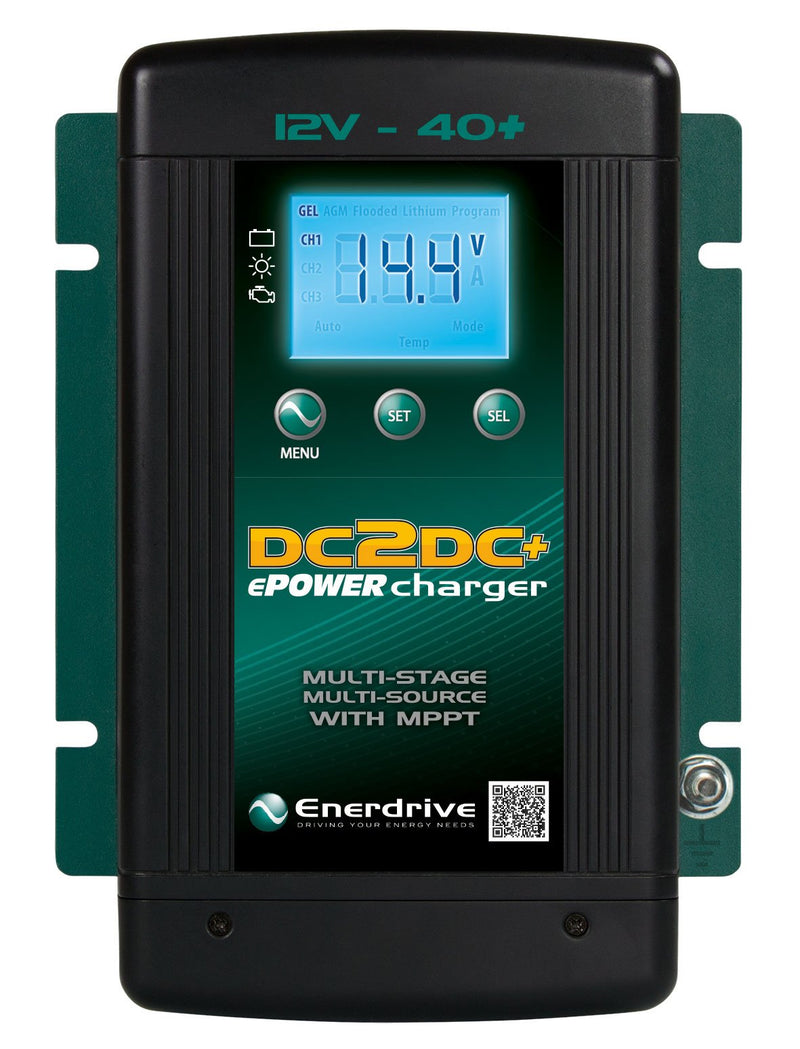 Enerdrive ePOWER 40+ DCDC - Wa 4x4 Camping And Accessories