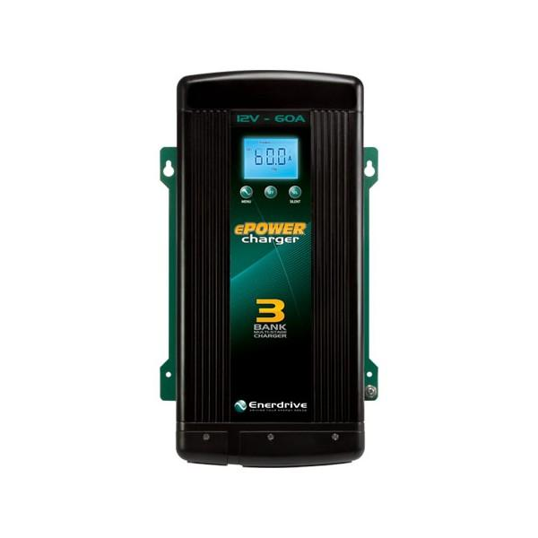 Enerdrive ePOWER AC 12V 60A Battery Charger - Wa 4x4 Camping And Accessories